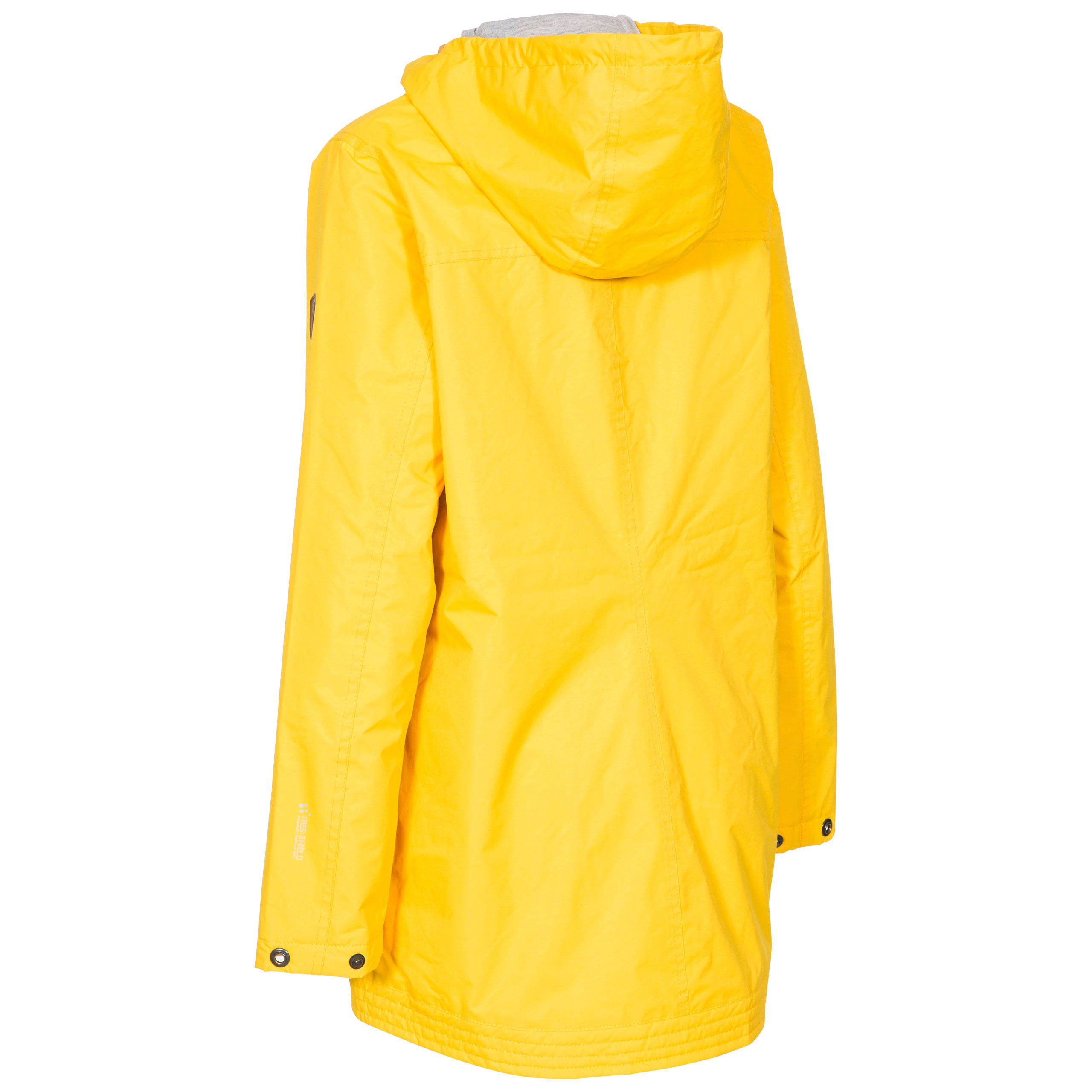 Trespass-Womens-Rain-Jacket-Waterproof-Hooded-Rain-Coat-Yellow-amp-Green thumbnail 15