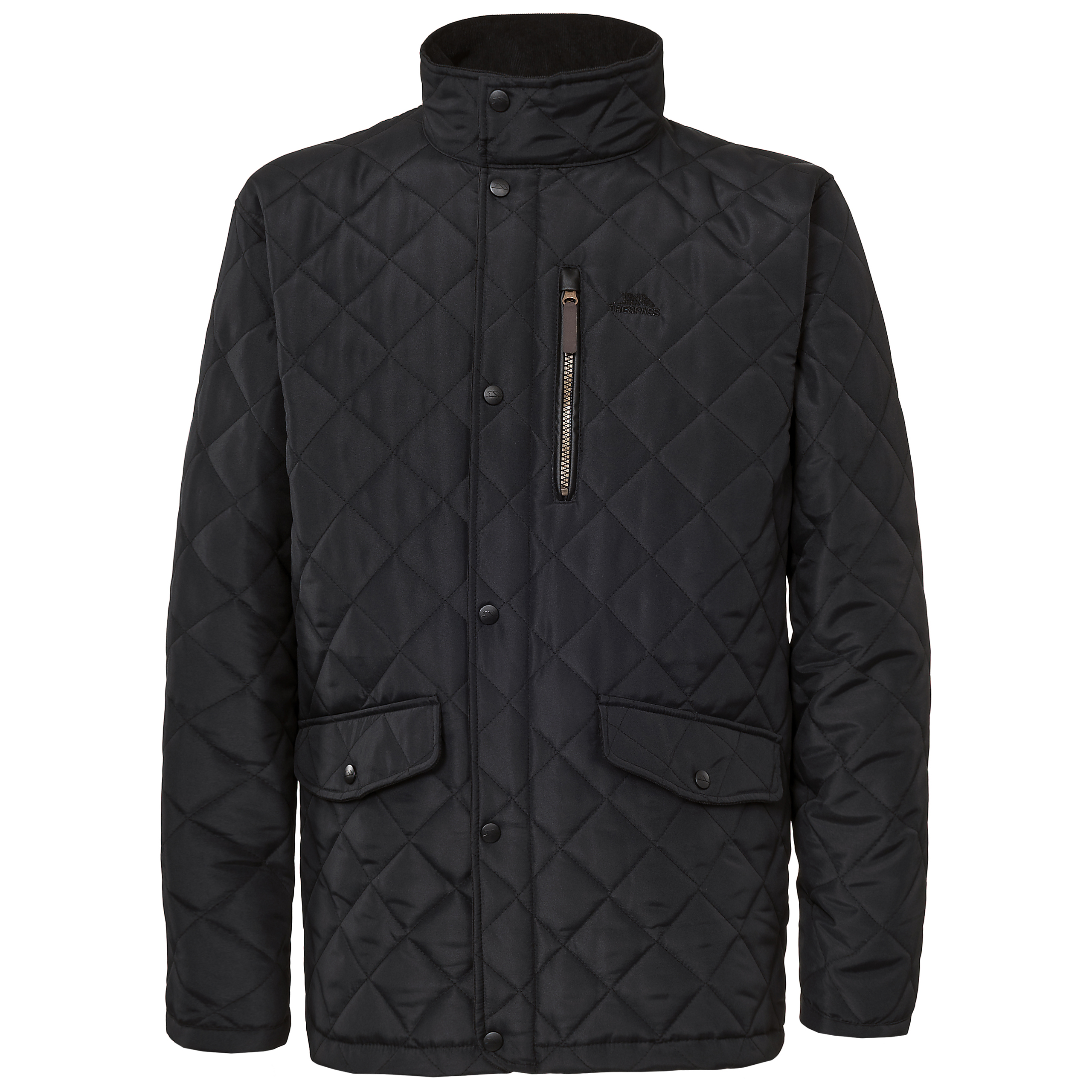 Trespass-Argyle-Mens-Casual-Padded-Quilted-and-Lined-Jacket-Warm-Winter-Coat thumbnail 8