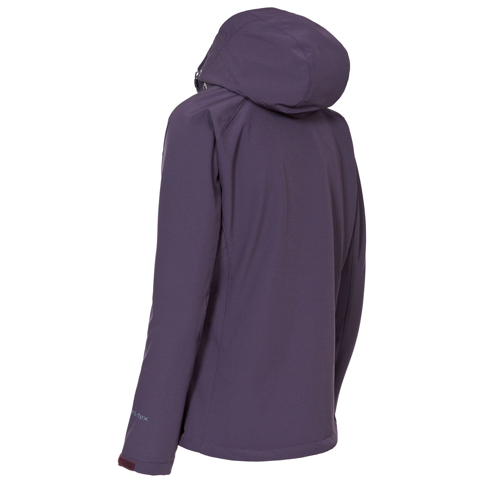 Trespass-Bela-Womens-Soft-Shell-Jacket-Breathable-in-Black-amp-Purple thumbnail 14