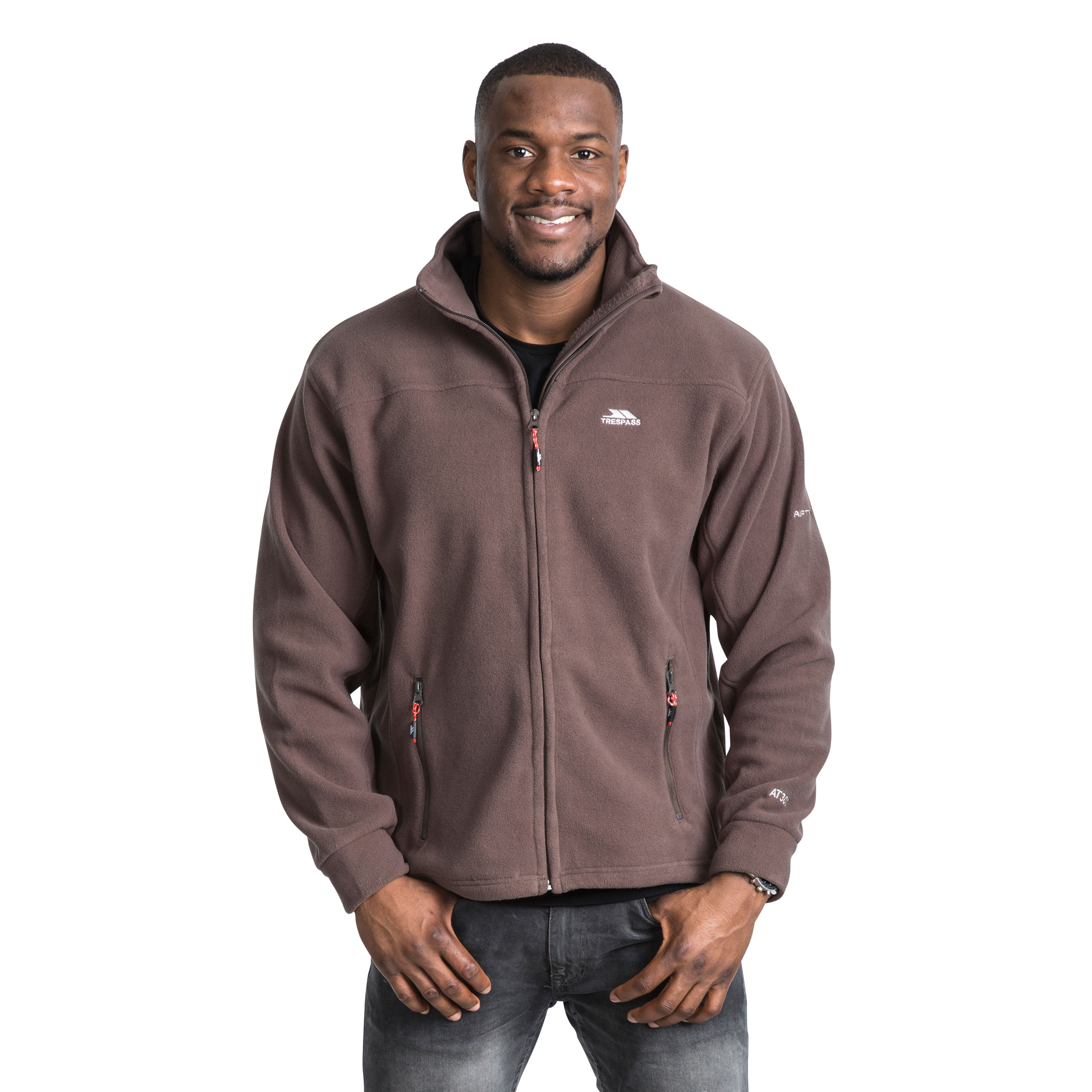 Trespass-Bernal-Mens-Heavyweight-Jumper-Full-Zip-Warm-Casual-Fleece thumbnail 20