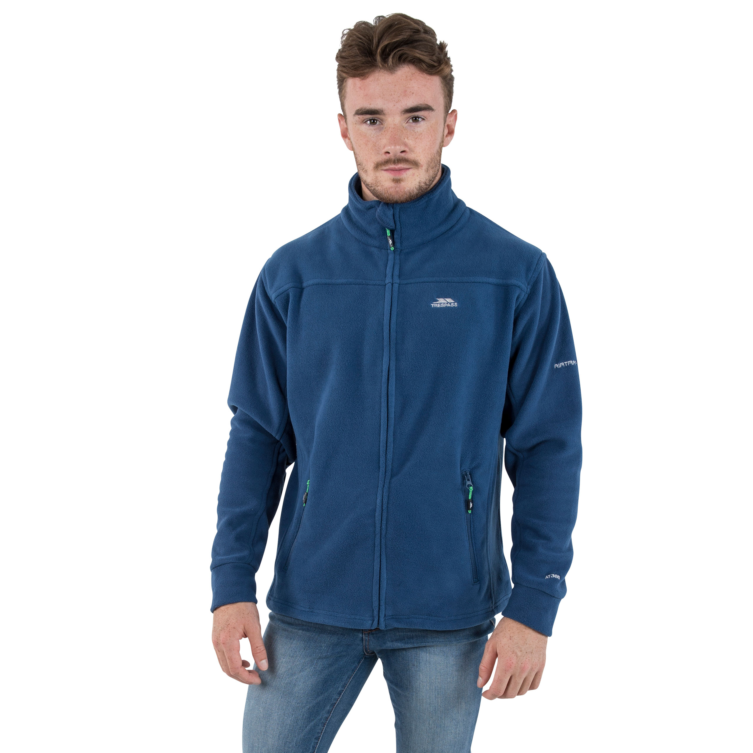 Trespass-Bernal-Mens-Heavyweight-Jumper-Full-Zip-Warm-Casual-Fleece thumbnail 23