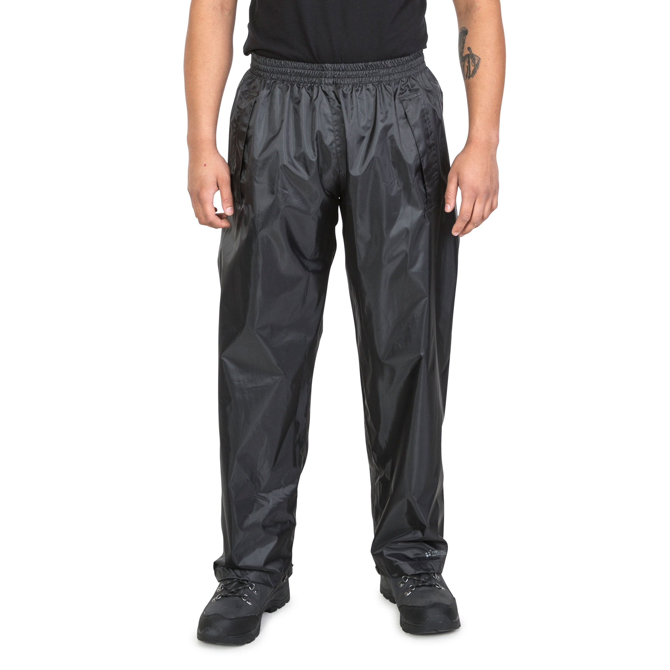 Trespass-Mens-Waterproof-Trousers-Walking-Hiking-Windproof-Carbondale thumbnail 14