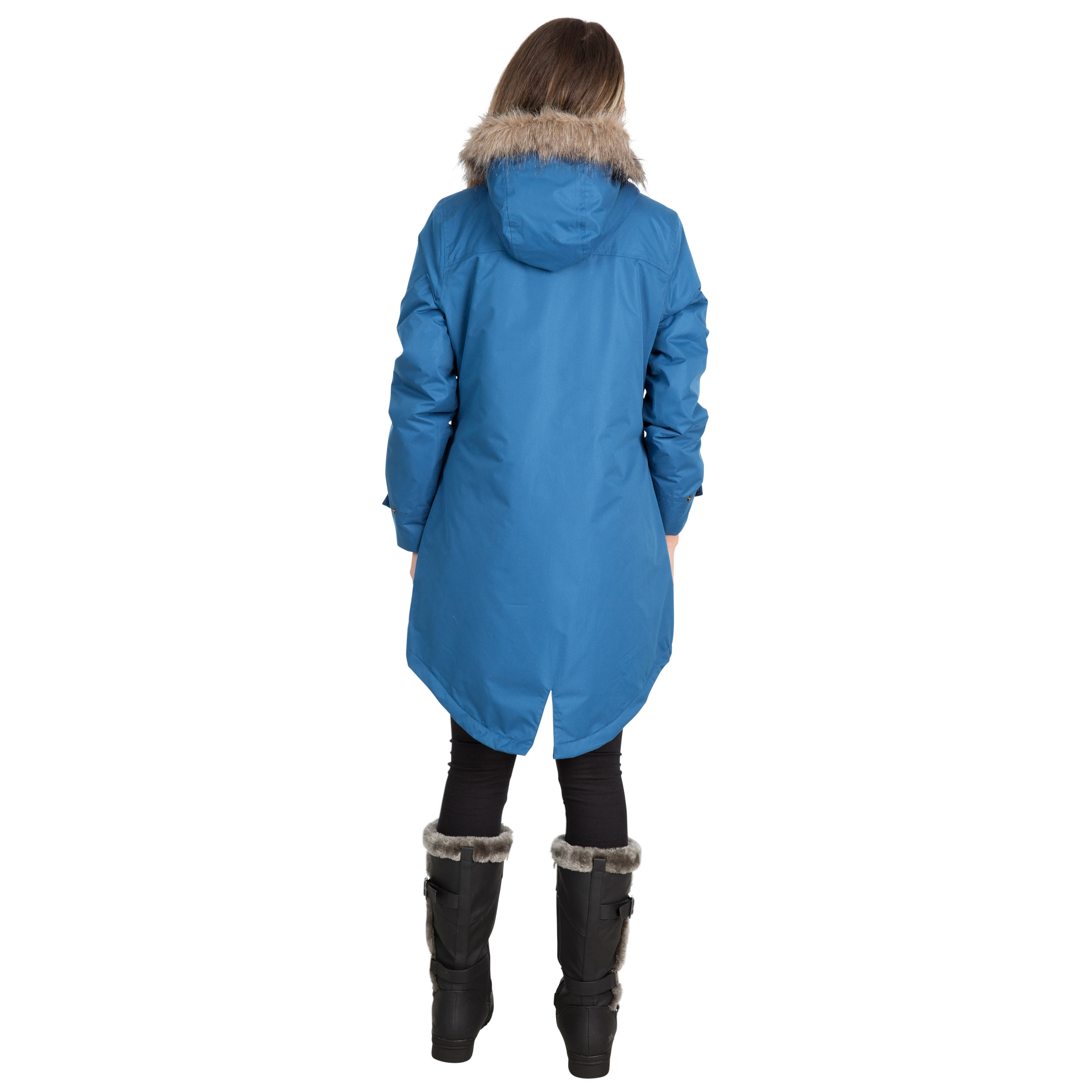 Trespass-Womens-Parka-Jacket-Waterproof-Hooded-Fur-Winter-Coat-XXS-XXXL thumbnail 17