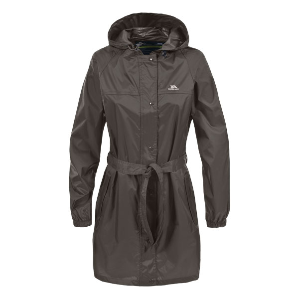Trespass-Womens-Long-Rain-Jacket-Waterproof-Wind-Packaway-Coat thumbnail 16