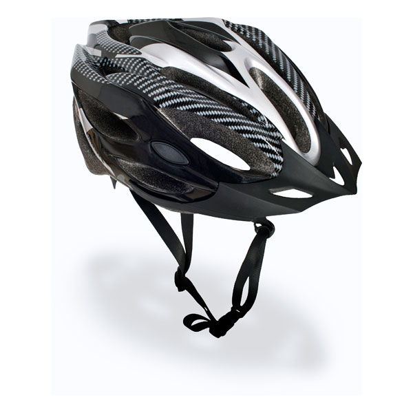 Trespass-Crankster-Adults-Cycling-Bike-Helmet-Lightweight-in-Black-White-Red thumbnail 14