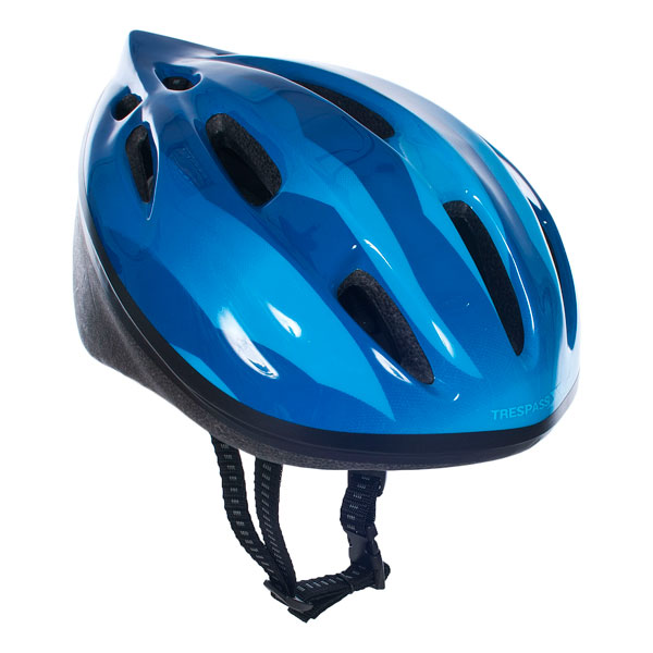 Trespass-Cranky-Kids-Bike-Helmet-in-Pink-Blue-White-Boys-Girls-Cycling-Scooter thumbnail 14