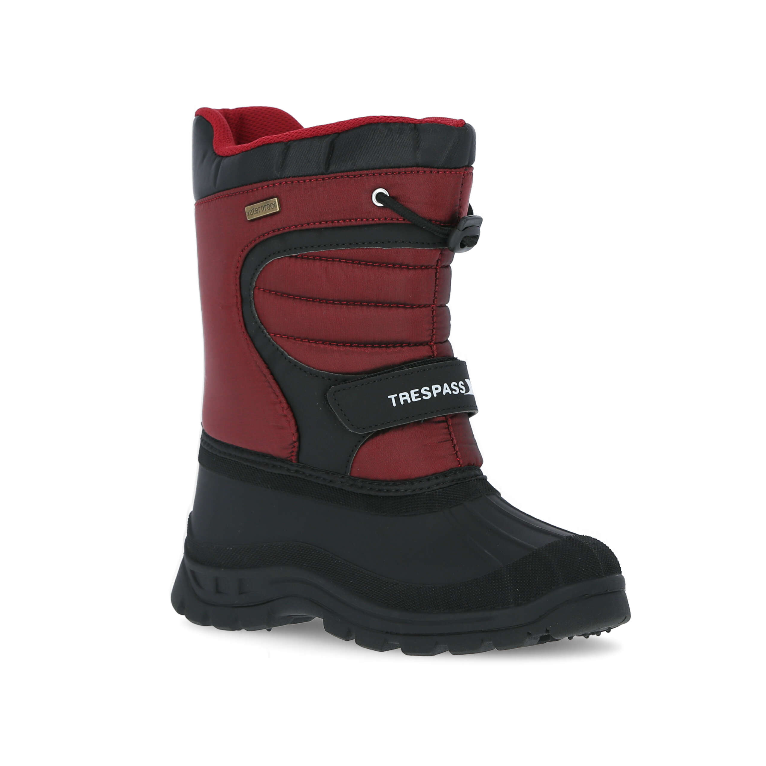 thumbnail 18 - Trespass Dodo Youth Kids Water Resistant Snow Boots in Black Winter Warm