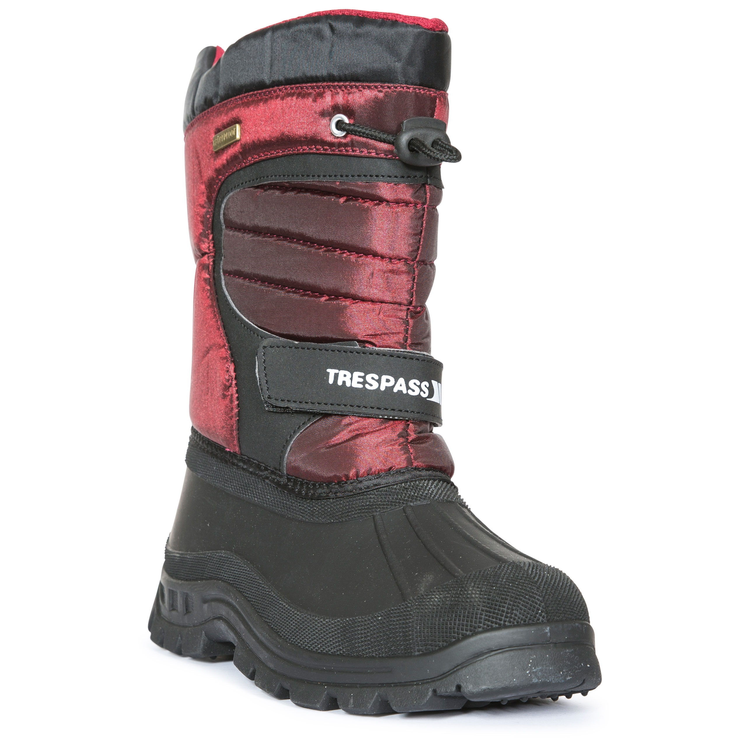 thumbnail 17 - Trespass Dodo Youth Kids Water Resistant Snow Boots in Black Winter Warm