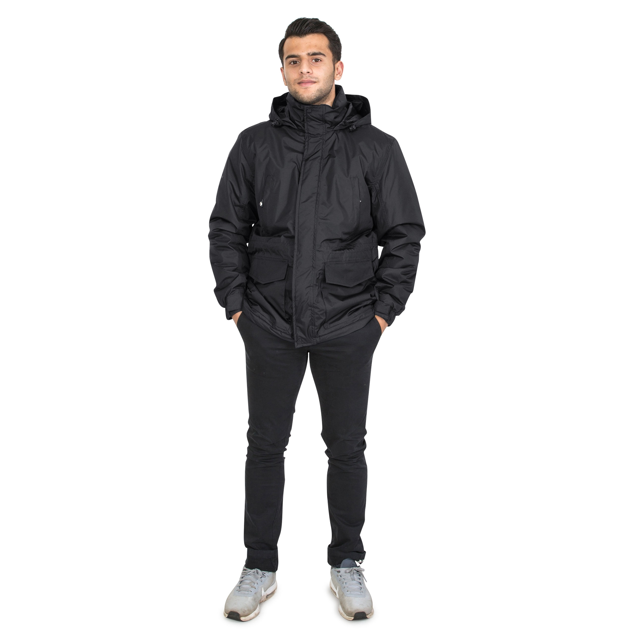 Trespass-Mens-Winter-Jacket-Padded-Waterproof-Insulated-Coat-in-Navy-Black thumbnail 12