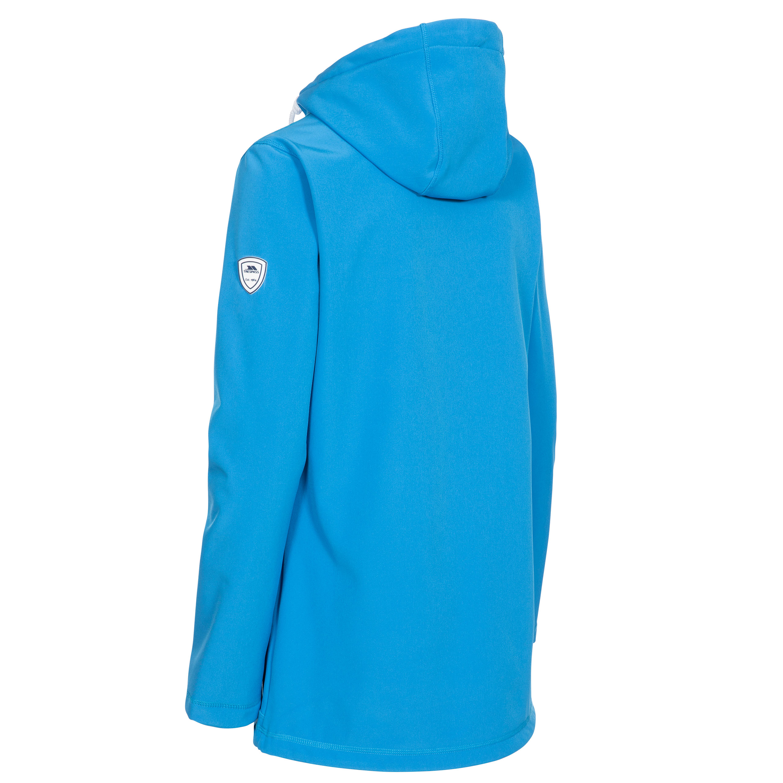 Trespass-Kinsley-Womens-Softshell-Jacket-Waterproof-Coat-With-Hood-Red-Blue thumbnail 16