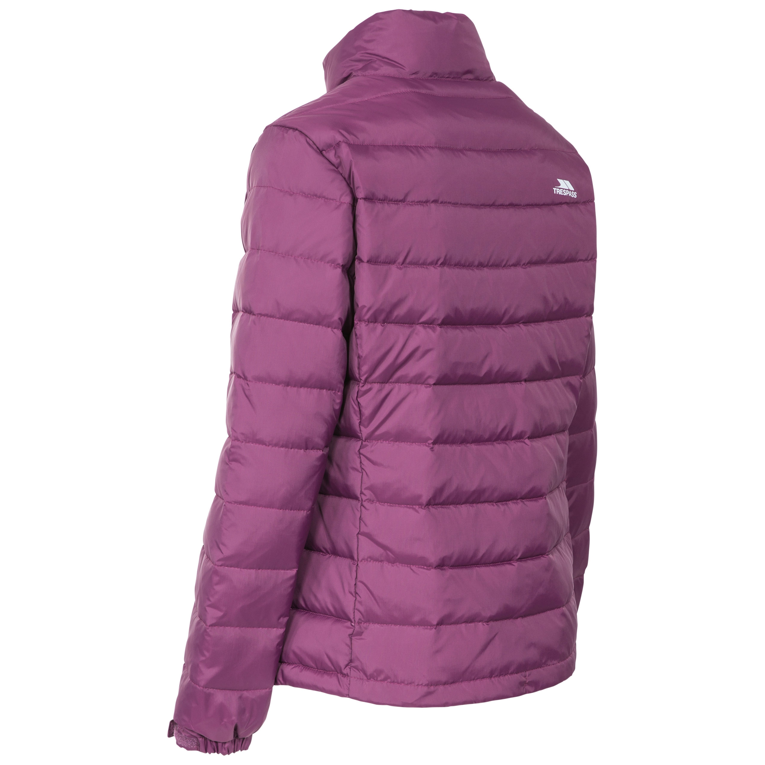 Trespass-Letty-Womens-Down-Jacket-Padded-and-Warm-in-Black-Navy-amp-Purple thumbnail 14