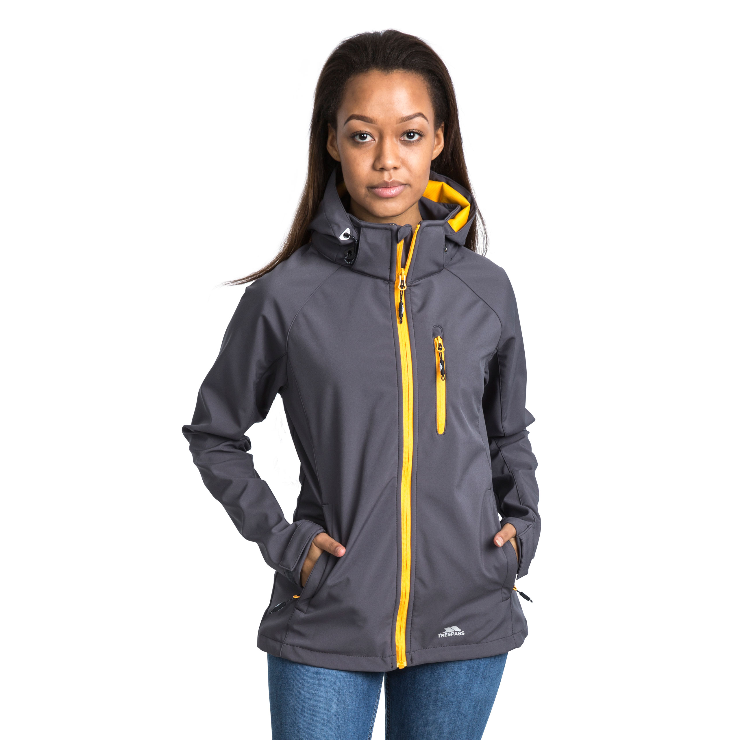 Trespass-Lorina-Women-Softshell-Jacket-Waterproof-Windproof-and-Breathable thumbnail 14