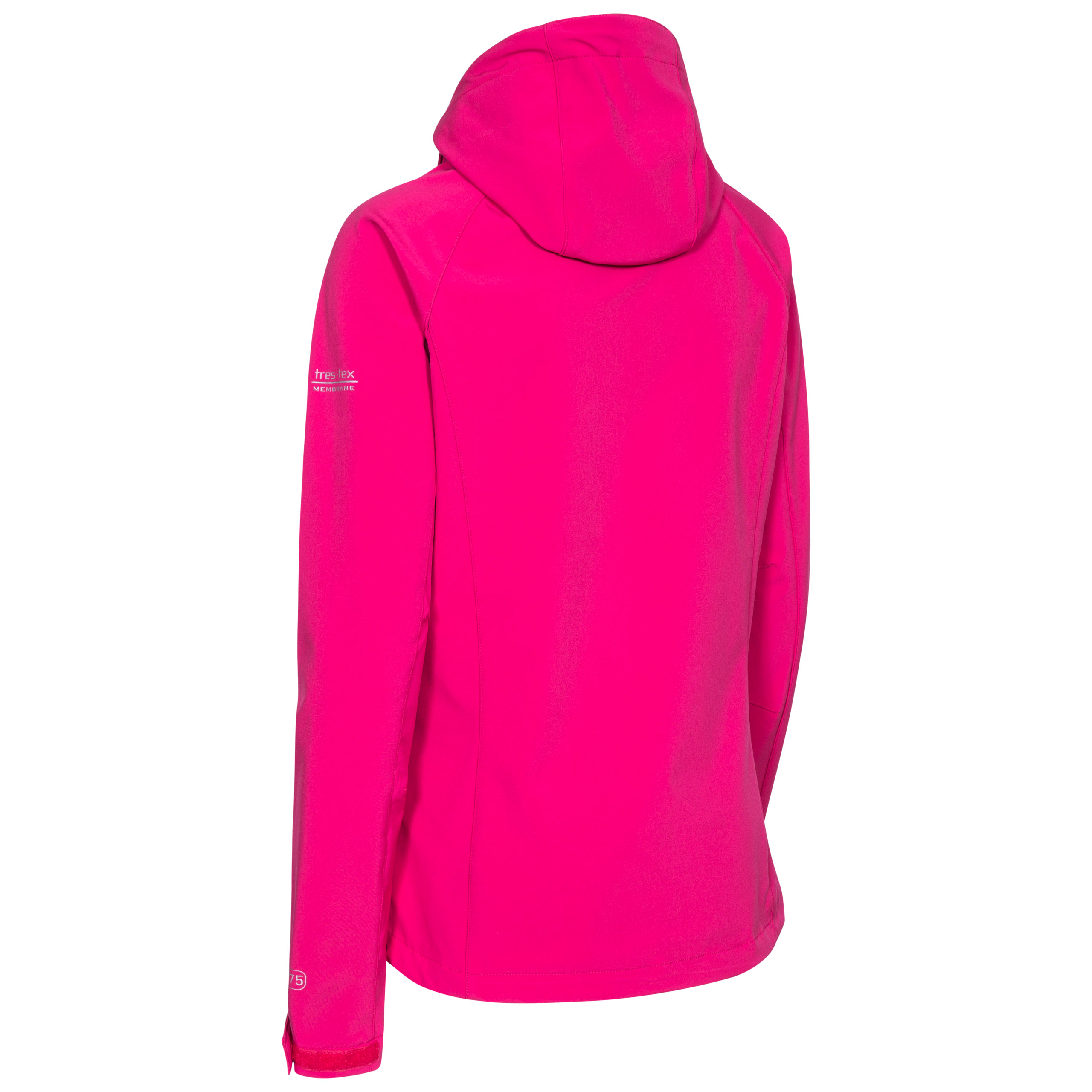 Trespass-Lorina-Women-Softshell-Jacket-Waterproof-Windproof-and-Breathable thumbnail 17