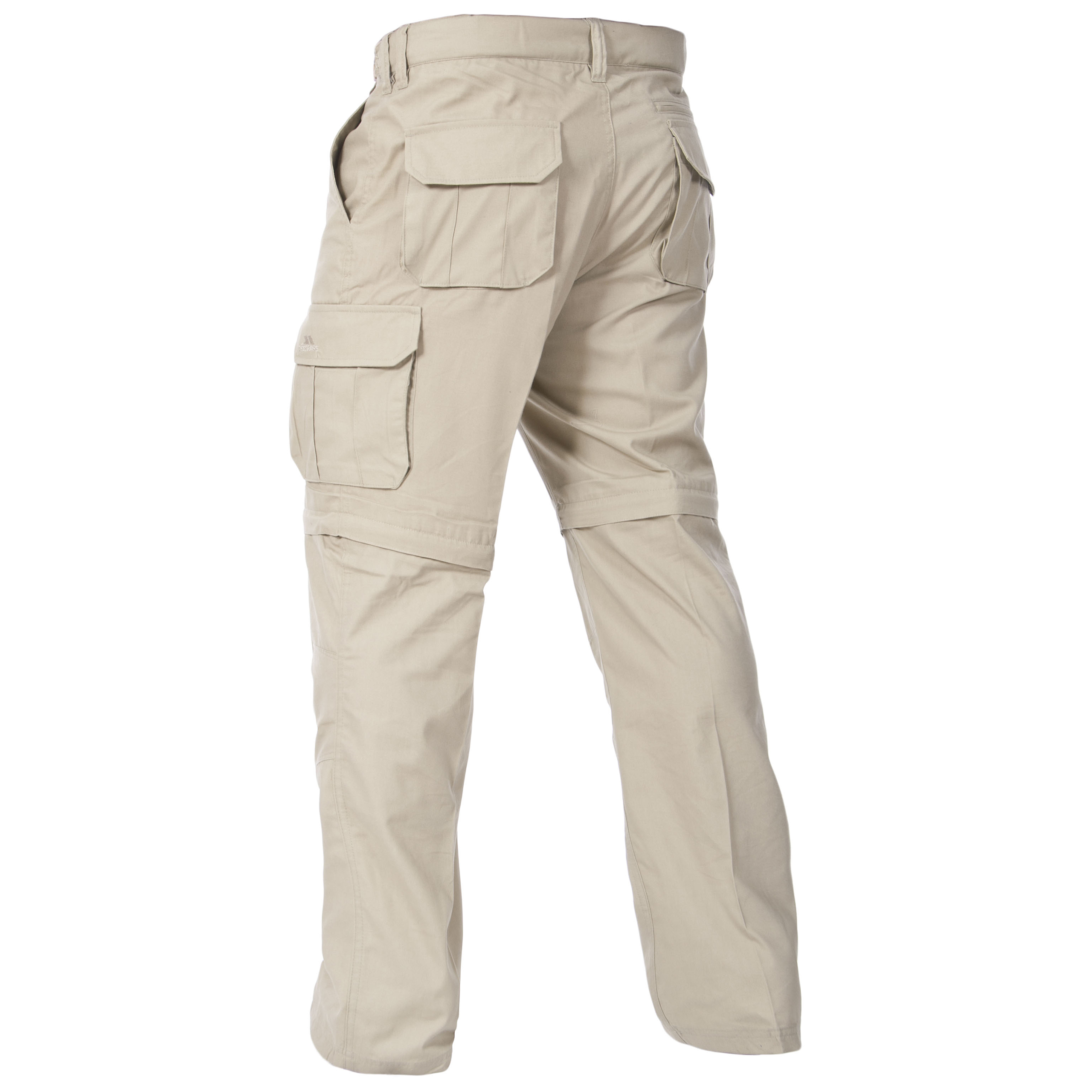 Trespass-Mallik-Mens-Cargo-Trousers-Pants-in-Grey-Green-amp-Brown thumbnail 10