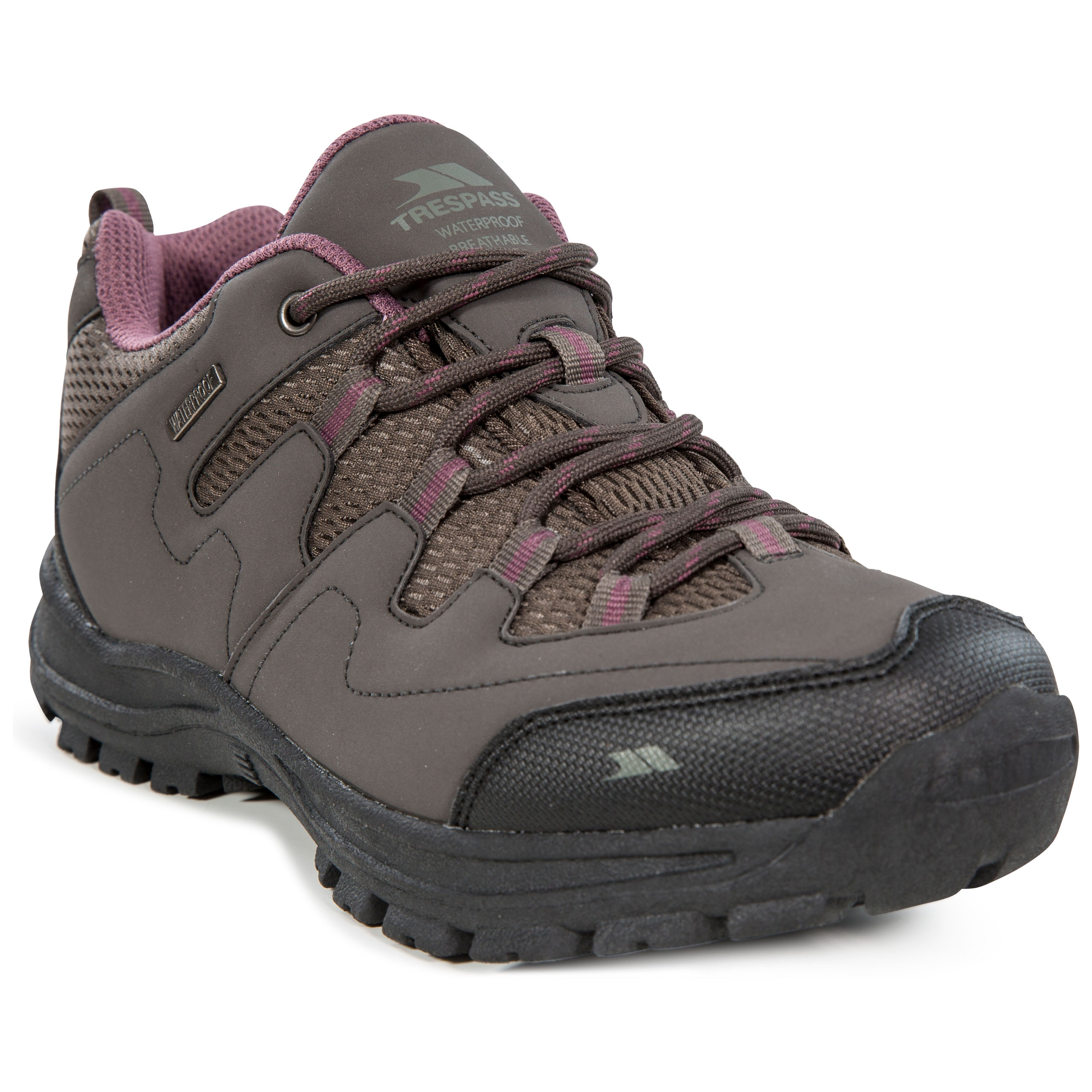 Trespass-Mitzi-Womens-Waterproof-Walking-Hiking-Shoes-For-Ladies thumbnail 4