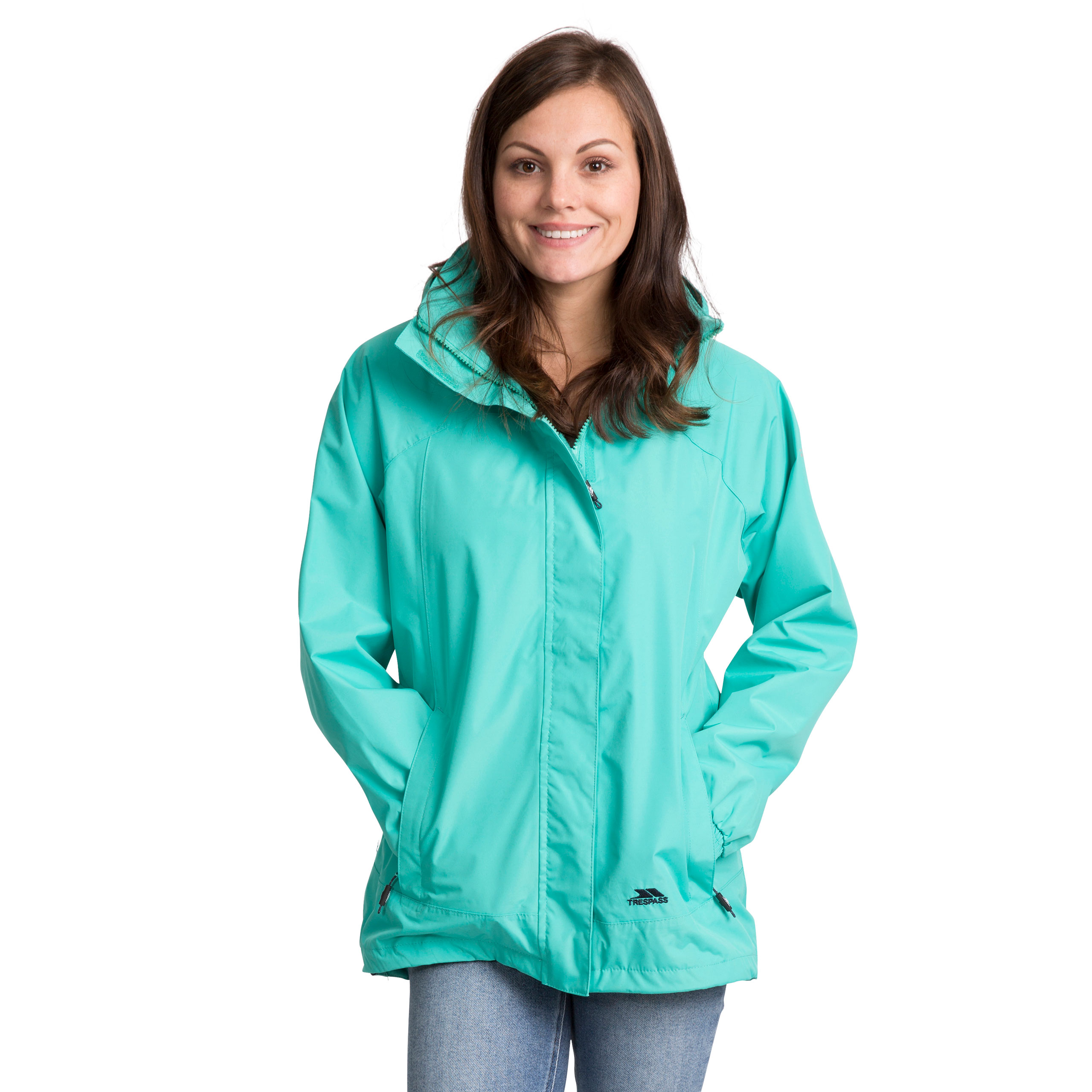 Trespass-Womens-Waterproof-Hooded-Jacket-Outdoor-Cycling-Raincoat thumbnail 20