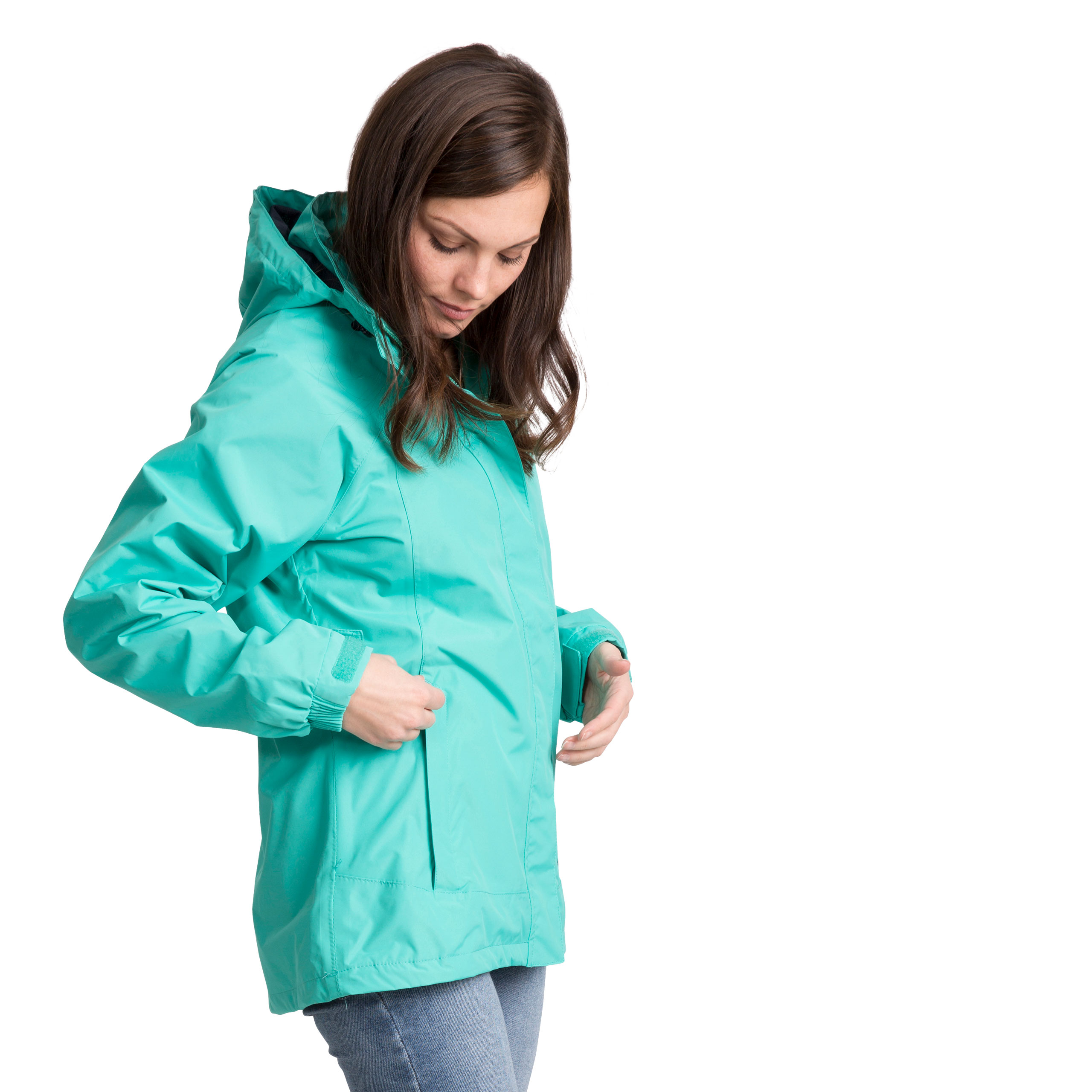 Trespass-Womens-Waterproof-Hooded-Jacket-Outdoor-Cycling-Raincoat thumbnail 18