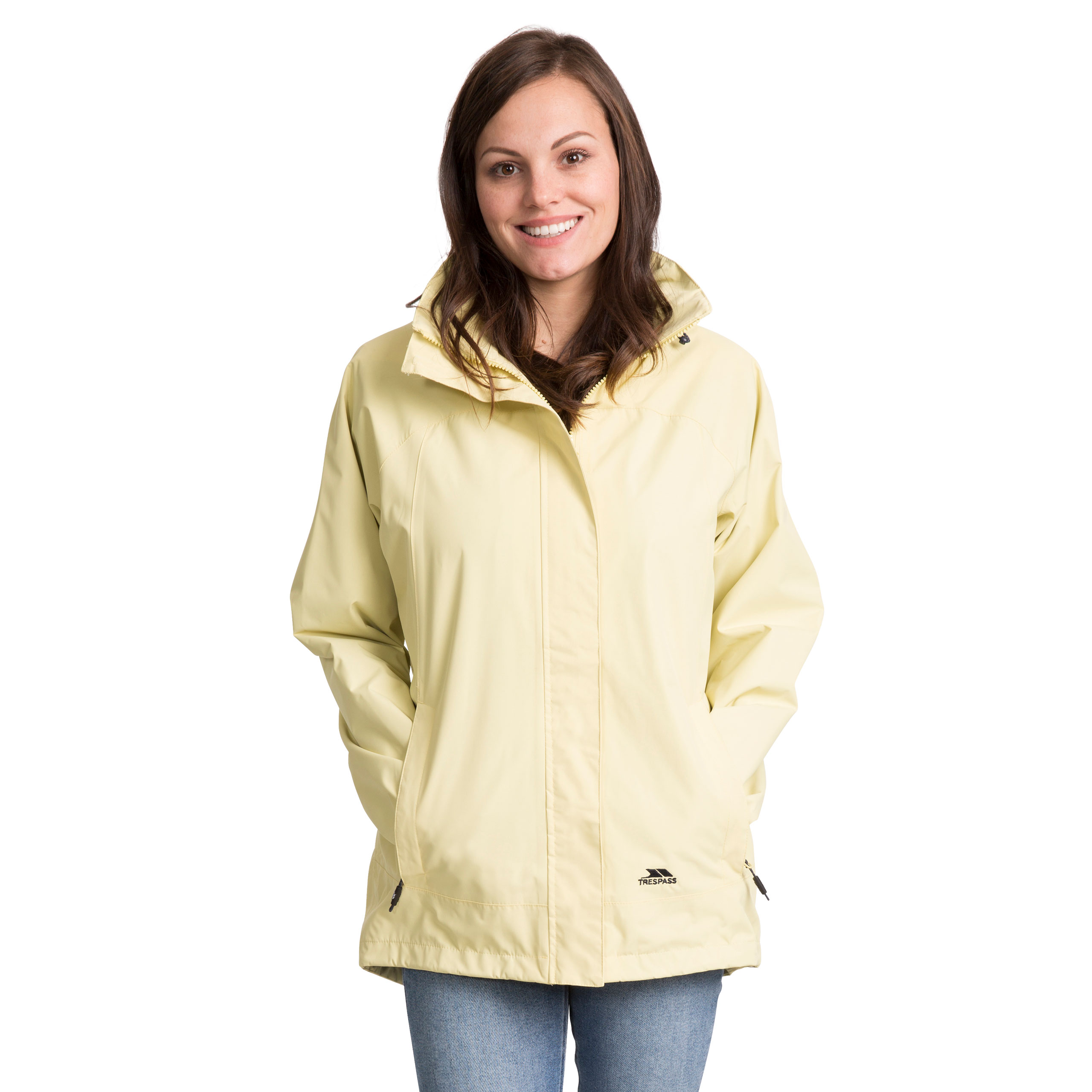 Trespass-Womens-Waterproof-Hooded-Jacket-Outdoor-Cycling-Raincoat thumbnail 23