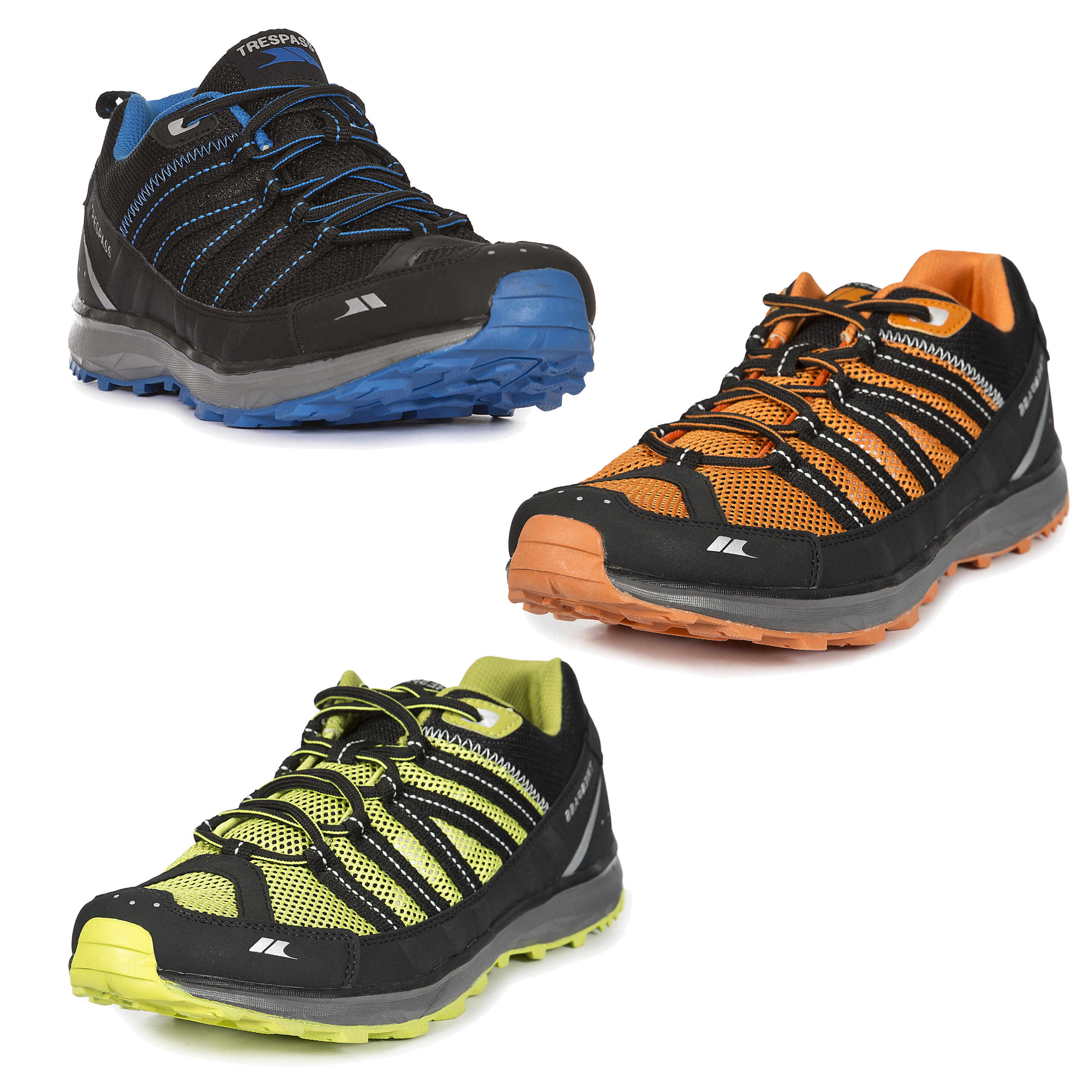 Trespass-Pace-Mens-Active-Trainers-Sports-Lace-Up-Shoes