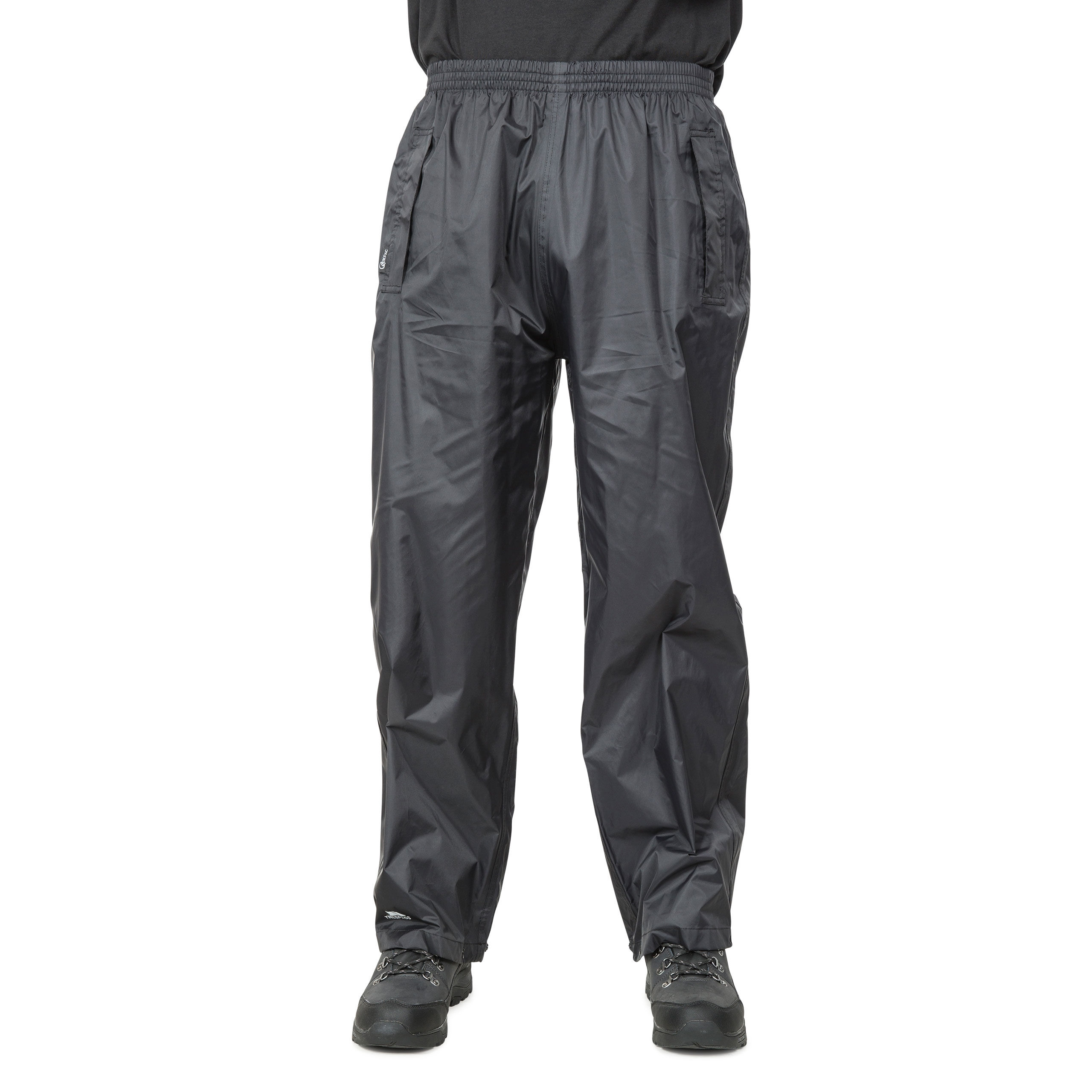 Trespass-Mens-Womens-Waterproof-Trousers-Packaway-Breathable-Qikpac thumbnail 6