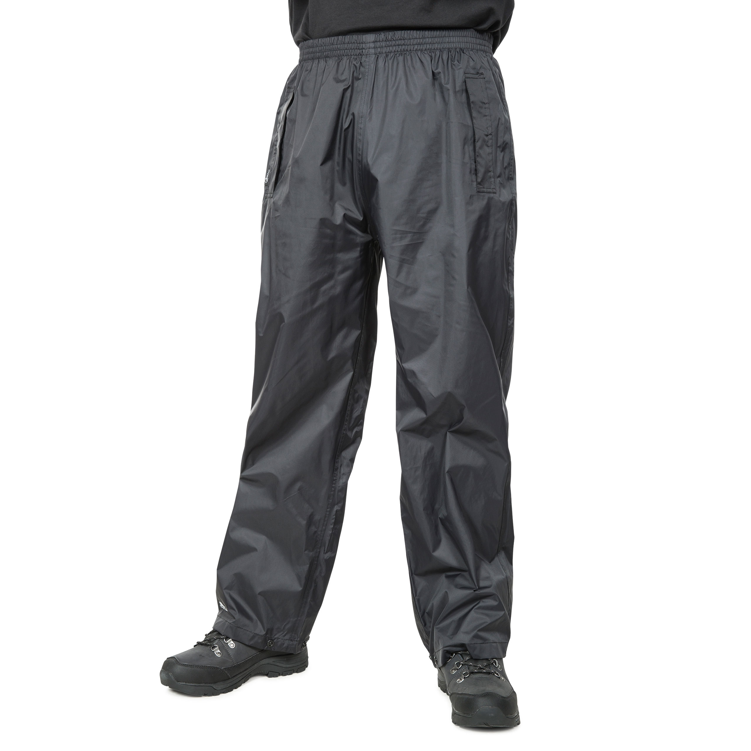 Trespass-Mens-Womens-Waterproof-Trousers-Packaway-Breathable-Qikpac thumbnail 8