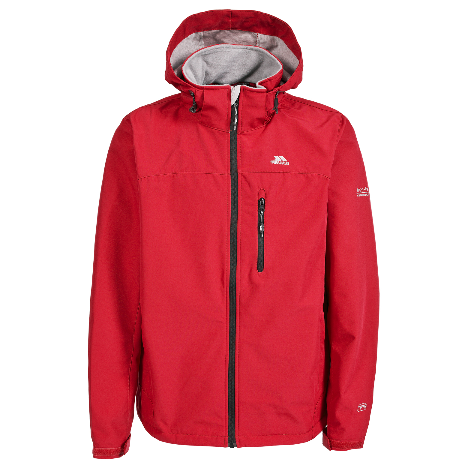 Trespass-Stanford-Mens-Waterproof-Soft-Shell-Jacket-in-Black-Blue-Red-Olive thumbnail 17