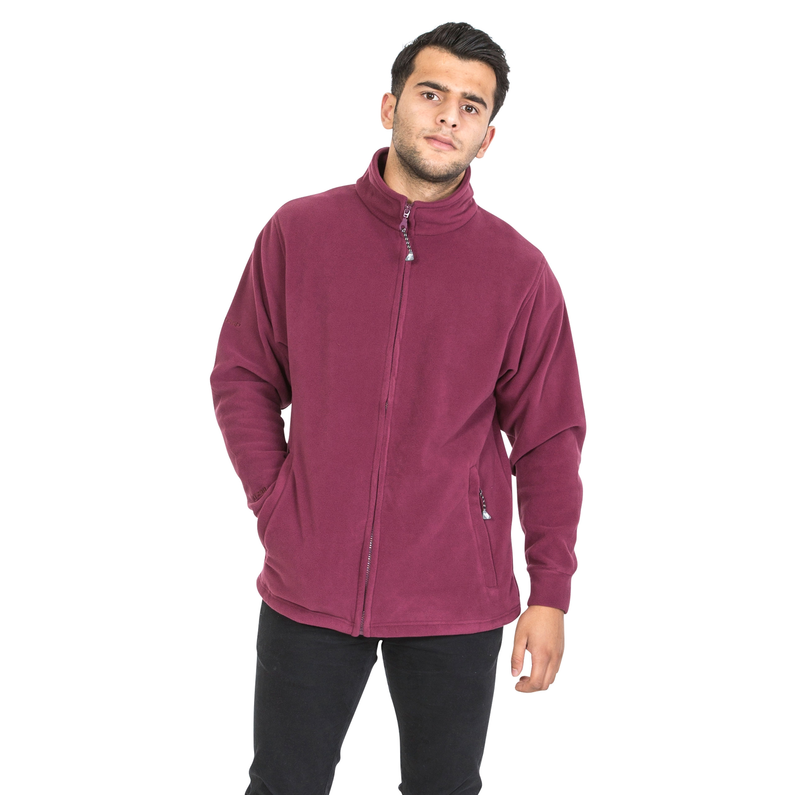 Trespass-Strength-Mens-Warm-Full-Zip-Fleece-Pullover-Walking-Hiking-Jumper thumbnail 22