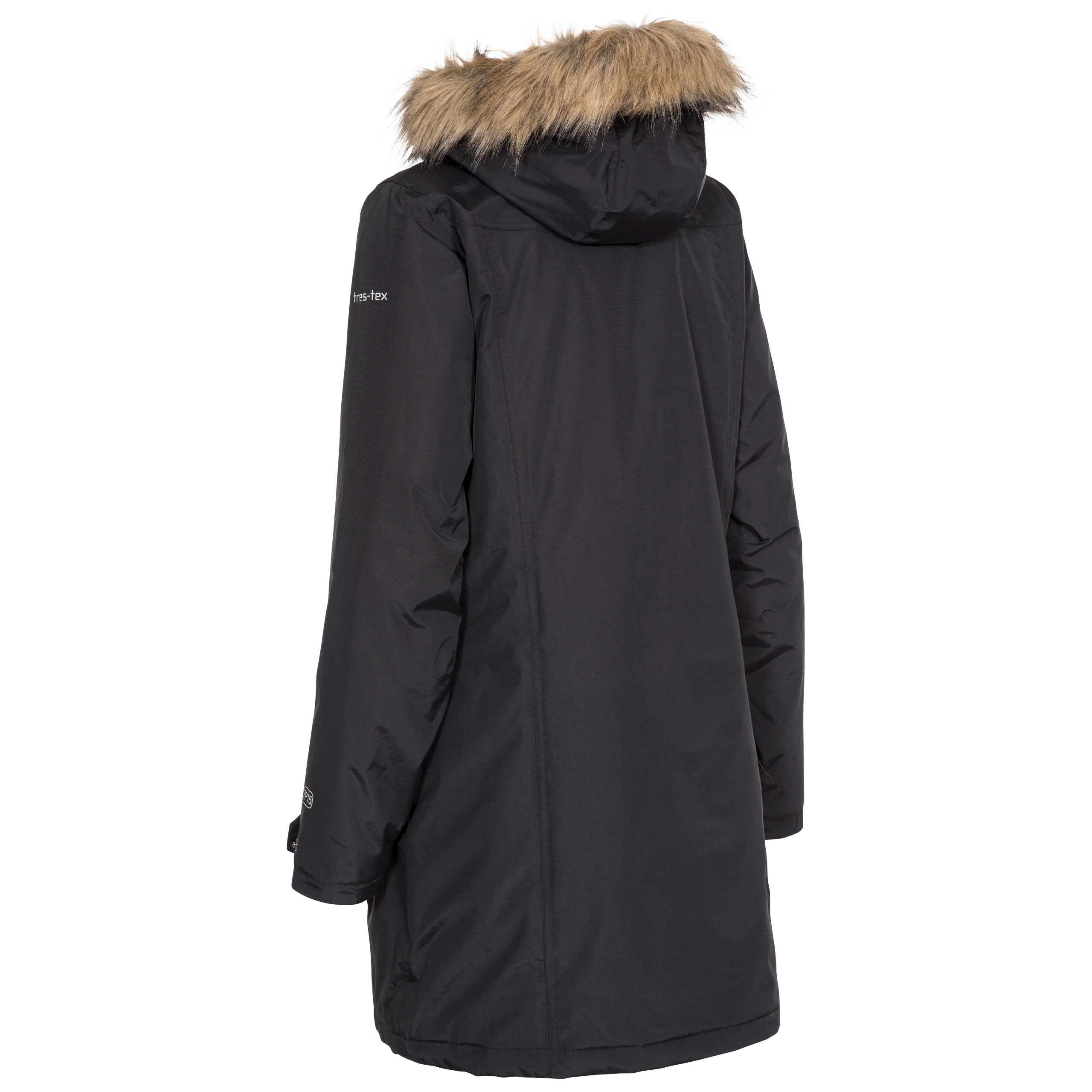 Trespass-Womens-Parka-Jacket-Waterproof-Longline-Winter-Warm-Coat thumbnail 7