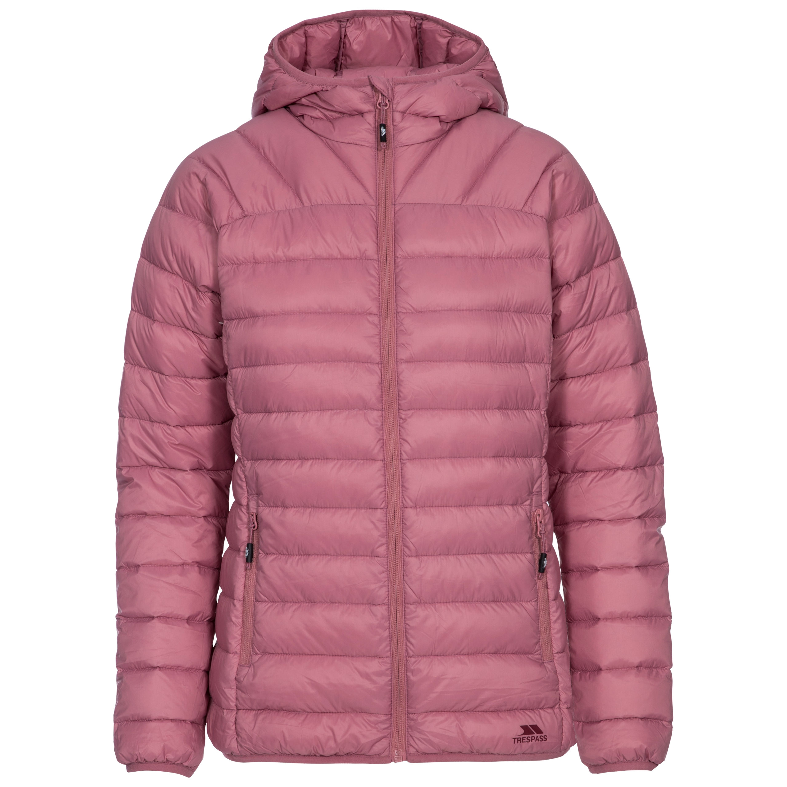 Trespass-Trisha-Womens-Lightweight-Down-Jacket-Puffer-Coat-with-Hood thumbnail 17