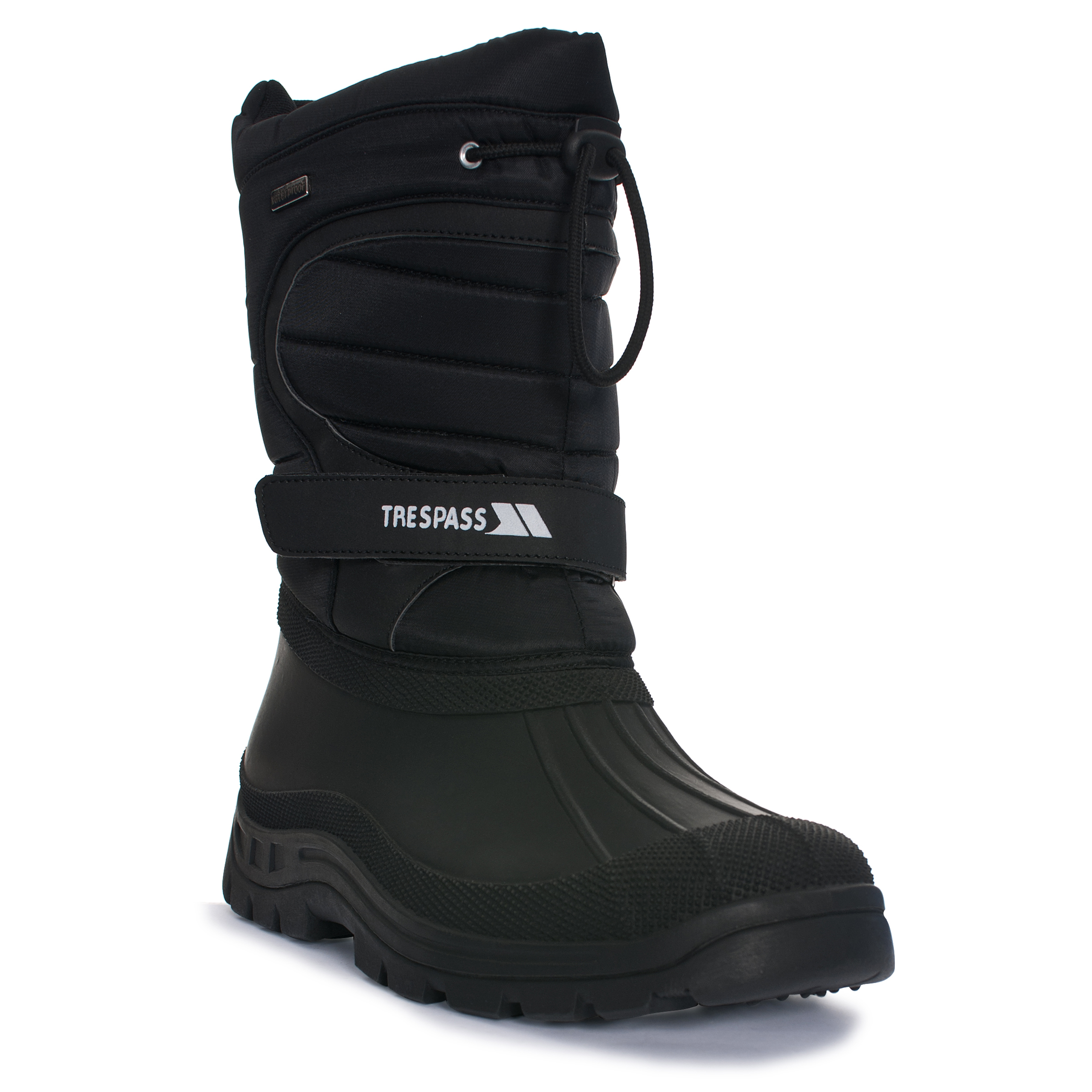 thumbnail 14 - Trespass Dodo Youth Kids Water Resistant Snow Boots in Black Winter Warm