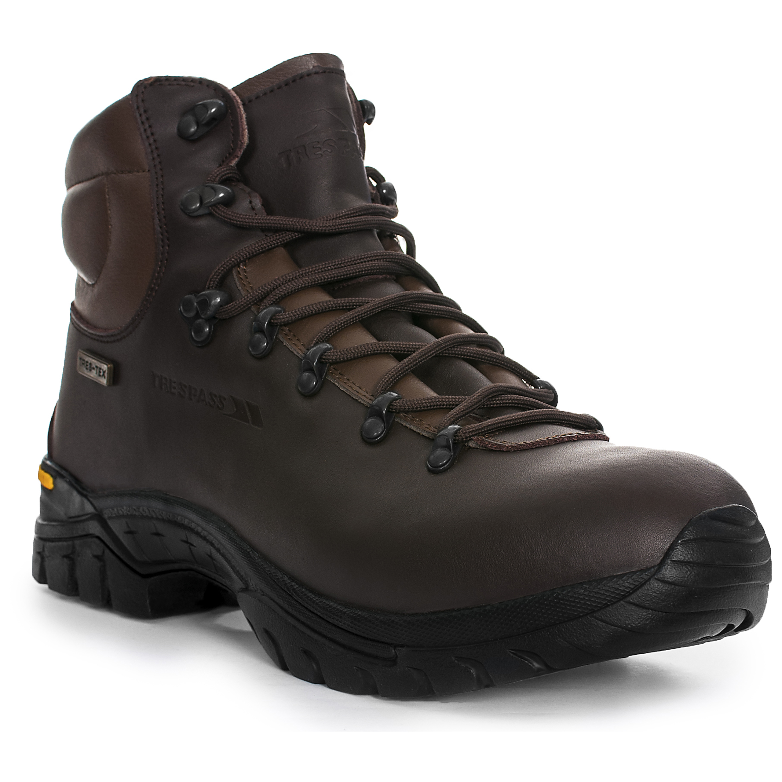 Trespass  Walker Youths Leather Boots Boys Girls Breathable Walking Hiking Shoes