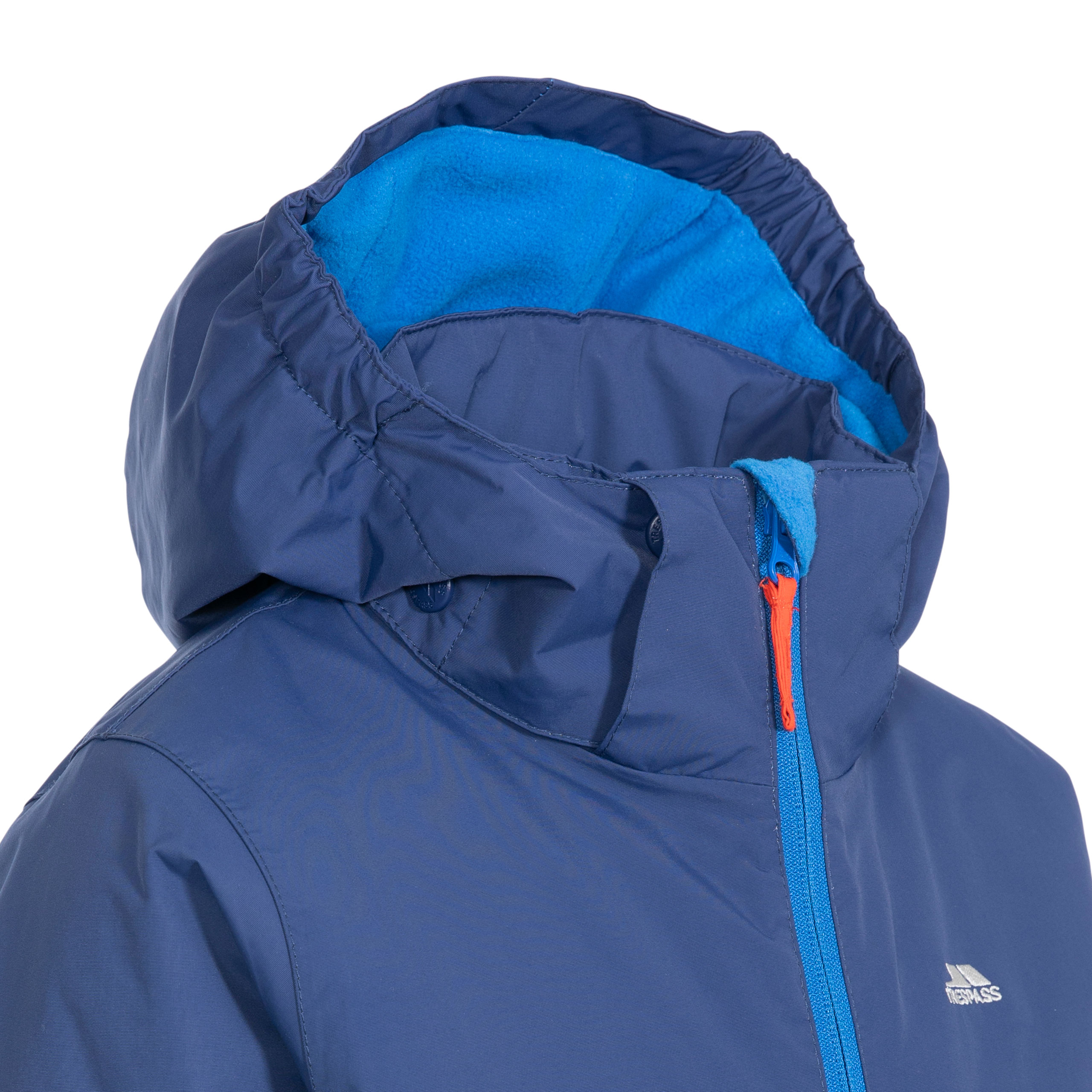 Trespass-Boys-Ski-Jacket-Waterproof-Blue-Hooded-Warm-Coat-Kids-2-12-Years thumbnail 14